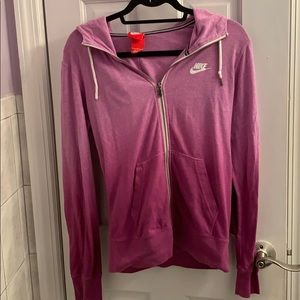 Nike ombré zip up jacket